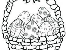 Easter Coloring Pages Eggs For Easter Coloring Page Large Egg