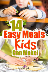 10 easy breakfast recipes for kids. 14 Easy Meals Kids Can Make