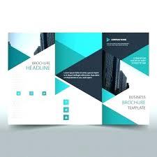 Free Brochure Maker Online Templates Template Tri Fold