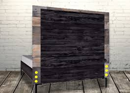 rustic black wood frame. 8-how-to-build-rustic-wood-head-board- Rustic Black Wood Frame