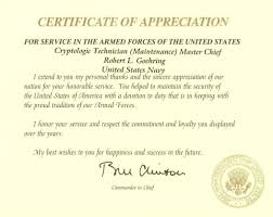 Navy Good Conduct Certificate Sample Fresh Fine Retirement