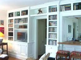 custom built in bookshelves bookcases made how much do cost