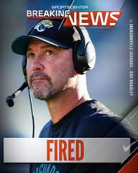 Jaguars have fired coach Gus Bradley ...