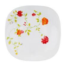 <b>Тарелка десертная</b> d. 21.5 см, опаловое стекло, <b>квадратная</b> ...