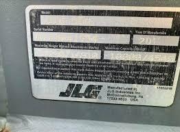 Jlg G12 55a Load Chart 2011 Jlg G10 55a Telehandler