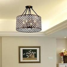 kind large drum shade chandelier