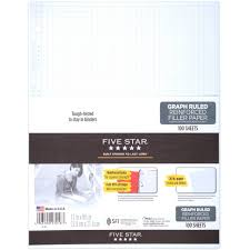 Five Star Graph Paper Notebook Mead 5 Star Graph Paper Notebook Magdalene Project Org