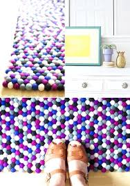 at home rugs felt ball rugs at home in love outdoor rugs home depot