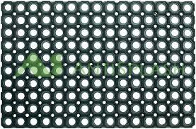 <b>Коврик резиновый</b> с отверстиями «Домино» 1000 х 1500 х 16 мм