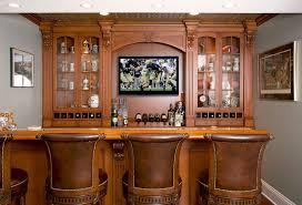 Home bar decor Simple Wooden Home Bars Freshomecom Home Bar Decor Ideas Collaborate Decors