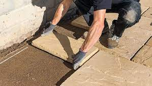 how to lay a patio laying a patio on