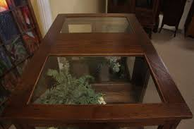 terrarium furniture. vitrine curio showcase or terrarium herb garden furniture