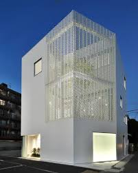 modern office building design. office block in japan by hiroyuki moriyama encloses a planted garden designboom architecture modern building design