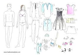 Clothes Template Paper Doll Clothes Template Cut Out And Dress Paper Dolls Wonderful