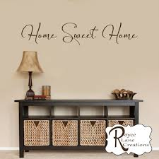 home sweet home decal new wall decals for home