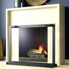 glass fireplace screen. Contemporary Glass Fireplace Screen Screens Shop A Window Onto Cozy Fire Our Clean Modern D