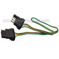 4 way 4 pin plug flat 20 gauge trailer light wiring harness 4 way 4 pin plug flat 20 gauge trailer light wiring harness extension