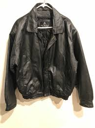 oscar piel men s casual riding er style leather jacket size medium