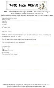 Delightful Thank You Letter After Receiving Donation With Logo