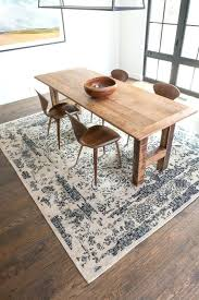 dining room rug rugs dining above size area rug under dining room table