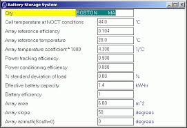 Pv F Chart Photovoltaic Systems Analysis F Chart Software