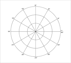 Polar Graph Paper 13 Download Documents In Pdf Word
