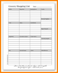 8 Grocery List Organizer Plastic Mouldings