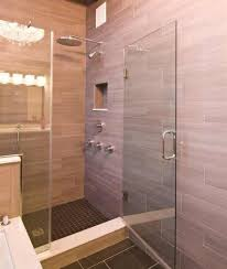... modern-bathroom-with-Hanging-Rainfall-Shower-Heads-and- ...