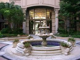 large garden fountain for formal garden fountain large wall