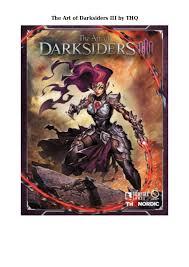 Ebook Free Downloads Pdf Format The Art Of Darksiders Iii