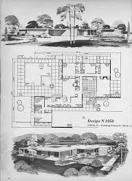 Small Picture Mid Century Modern House Plans Mid Century Modern Building Plans
