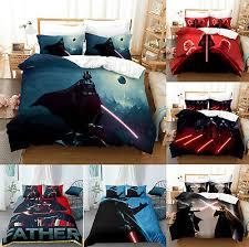 star wars darth vader bedding set 3pcs