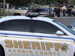 members of the harris county sheriff x2019 s department work outside the scene of