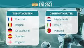 Juli 2021 in zwölf städten in europa statt. Em 2021 Favoriten Wer Wird Europameister Euro 2020