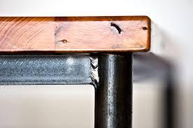 Image Redford Rustic Img6137 Ross Sheehan Custom Metal Wood Dining Table