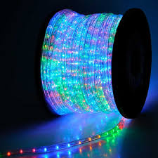 com holiday decorative led rope light lighting 150ft multi color home improvement
