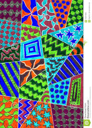 Different Types Of Patterns Awesome Different Kinds Ofl Patterns Stock Illustration Illustration Of