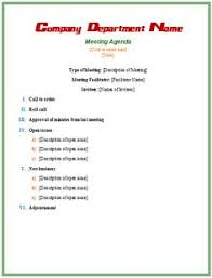 8 Best Agendas Images Day Planners Meeting Agenda Template