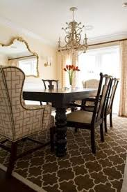 fun patterned dining rooms great exle of adding interest without adding much color