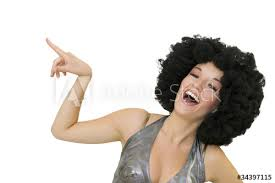 Disco Femme Riant Aux éclats Buy This Stock Photo And