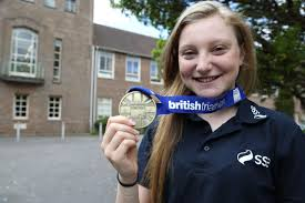 Lissie's a champion - three years after suffering serious head injuries |  Bournemouth Echo