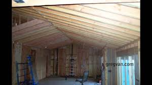 long sagging new double roof rafters structural engineering problems you
