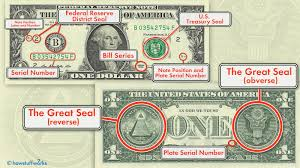 what do the symbols on the u s 1 bill