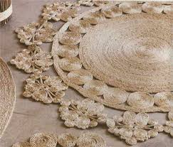 make jute sisal twine or cotton rope rugs