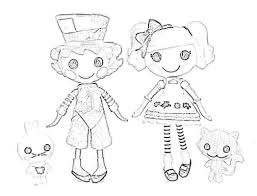 Small Picture wacky hatteralice lalaloopsy coloring page 604392 Coloring Pages