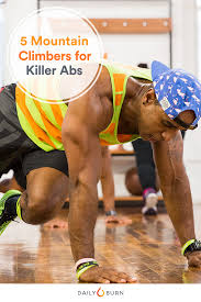5 mounn climbers for seriously sculpted abs