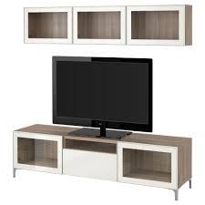 tv storage combination glass doors black brown selsviken ikea besta shelf bracket high gl full size