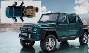 Too bad mercedes' comand interface is complicated; Mercedes Reveals World S Most Expensive Suv For 500 000 Daily Mail Online