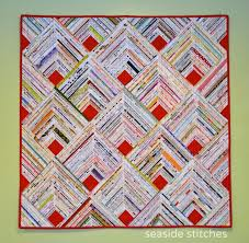 185 best Quilts etc. Selvage images on Pinterest | Quilting ideas ... & Tina Craig of Seaside Stitches in Rhode Island just finished her second selvage  quilt, and it's a real beauty! Adamdwight.com
