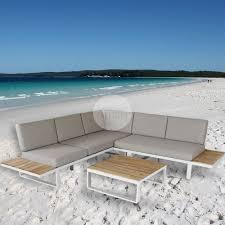 white coastal furniture. Euro Italia Malabar Corner Lounge - White Coastal Furniture O